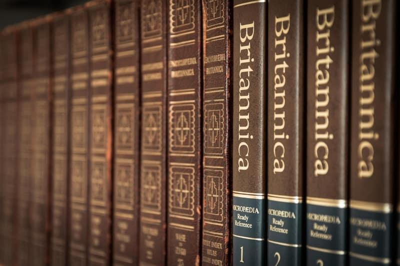 Blogging for fun not profit - volumes of britannica