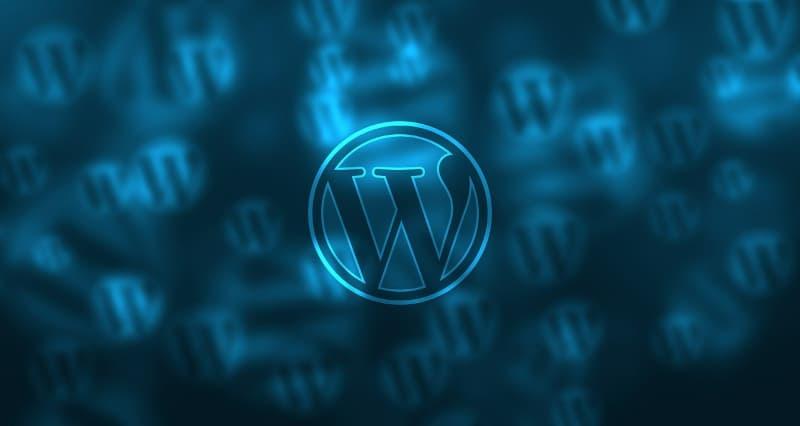 Blogging for fun not profit - wordpress logo
