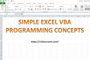Excel VBA programming concepts - Title - featured-img