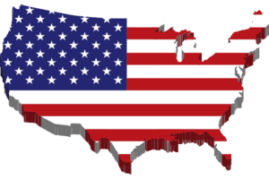quickly learn 50 us states and capitals - us map with flag background - featured-img